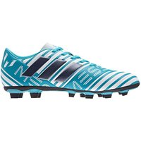 Adidas Nemeziz Messi 17.4 FG Mens Football Boots (Blue-White)