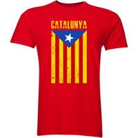 Catalonia Flag T-Shirt (Red)