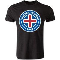 Iceland Core Logo T-Shirt (Black) - Kids