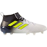adidas Ace 17.1 Primeknit FG Mens Football Boots (White-Yellow)
