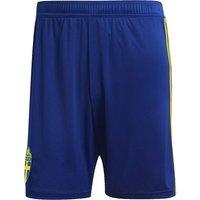 2018-2019 Sweden Home Adidas Football Shorts (Blue)