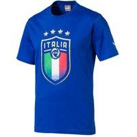 2018-2019 Italy Puma Badge Tee (Blue)