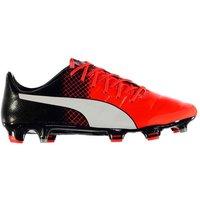 Puma EvoPower 1.3 FG Football Boots Mens (Red-Black)
