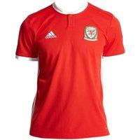 2018-2019 Wales Home Adidas Football Shirt