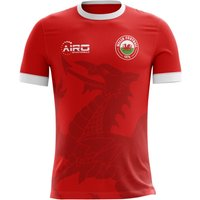 2018-2019 Wales Home Concept Football Shirt (Kids)