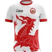 Image of 2020-2021 Wales Away Concept Football Shirt - Kids (Long Sleeve)