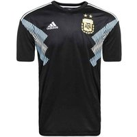 adidas Kids Argentina Replica Away Jersey, Childrens, BQ9341, BlackClblueWhite, 152.0