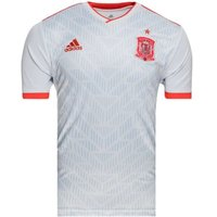 adidas Spain Away Football Shirt, Childrens, BR2694, HalblueBrired, 152.0