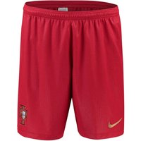2018-2019 Portugal Nike Home Shorts (Red) - Kids