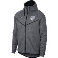 2018-2019 England Nike Authentic Tech Fleece Windrunner Jacket (Carbon)