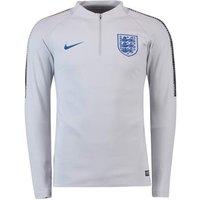 2018-2019 England Nike Training Drill Top (Grey) - Kids