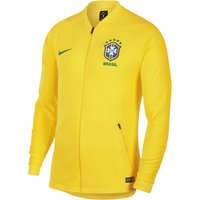 2018-2019 Brazil Nike Anthem Jacket (Yellow)