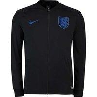 2018-2019 England Nike Squad Track Jacket (Black)