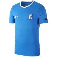 2018-2019 Greece Nike Core Crest Tee (Blue)