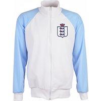 England 2018 Raglan Retro Track Jacket (White)