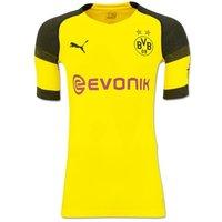 2018-2019 Borussia Dortmund Puma Authentic evoKNIT Home Football Shirt