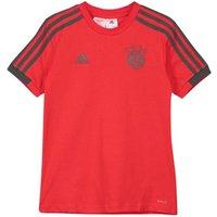 2018-2019 Bayern Munich Adidas Training Tee (Red) - Kids
