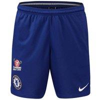 2018-2019 Chelsea Nike Squad Training Shorts (Blue)