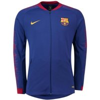 2018-2019 Barcelona Nike Anthem Jacket (Blue)