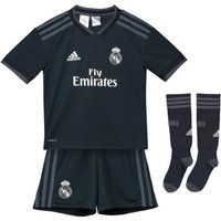 2018-2019 Real Madrid Adidas Away Mini Kit