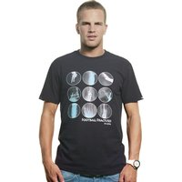 Football Fractures T-Shirt // Black 100% cotton