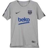 2018-2019 Barcelona Nike Training Shirt (Wolf Grey) - Kids