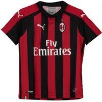2018-2019 Ac Milan Puma Home Shirt (kids)