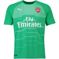 2018-2019 Arsenal Puma Away SS Goalkeeper Shirt (Green)
