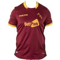 2018-2019 Motherwell Macron Away Football Shirt