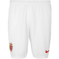 2018-2019 Monaco Nike Home Shorts (White)