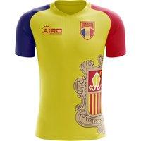2018-2019 Andorra Home Concept Football Shirt