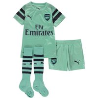 Puma AFC Kids Third Minikit Biscay Green-Peacoat 92