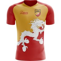 Image of 2020-2021 Bhutan Home Concept Football Shirt - Womens