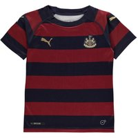 Puma Boys Newcastle United Away Shirt 2018 2019 Navy 7-8 Yrs