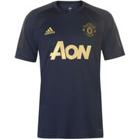 2018-2019 Man Utd Adidas UCL Training Shirt (Navy)
