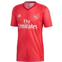 adidas Real Madrid Third Mens Football Shirt, Mens, DP5445, Real Coral, Vivid Red, FR : M Taille Fabricant : M