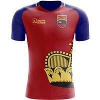 Image of 2020-2021 Liechtenstein Home Concept Football Shirt