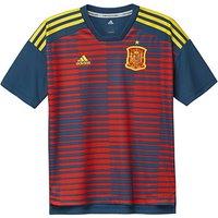 2018-2019 Spain Adidas Pre-Match Training Shirt (Red-Navy) - Kids