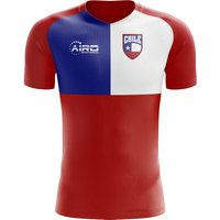 2018-2019 Chile Flag Concept Football Shirt - Baby