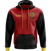 Angola Concept Country Football Hoody (Red)