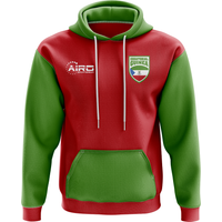 Image of Equatorial Guinea Concept Country Football Hoody (Red)