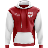 French Polynesia Concept Country Football Hoody (Red)