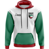 Kuwait Concept Country Football Hoody (White)
