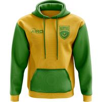 Mauritania Concept Country Football Hoody (Yellow)