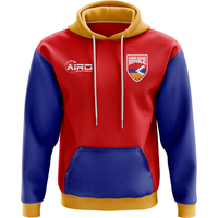 Nagorno Karabakh Republic Concept Country Football Hoody (Red)