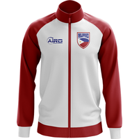 Phillippines Concept Football Track Jacket (White) - Kids