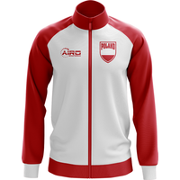 Poland Concept Football Track Jacket (White)