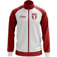 Peru Concept Football Track Jacket (White) - Kids