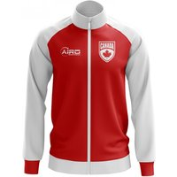 Canada Concept Football Track Jacket (Red) - Kids