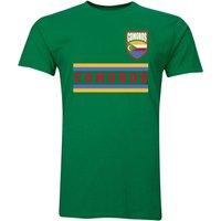 Comoros Core Football Country T-Shirt (Green)